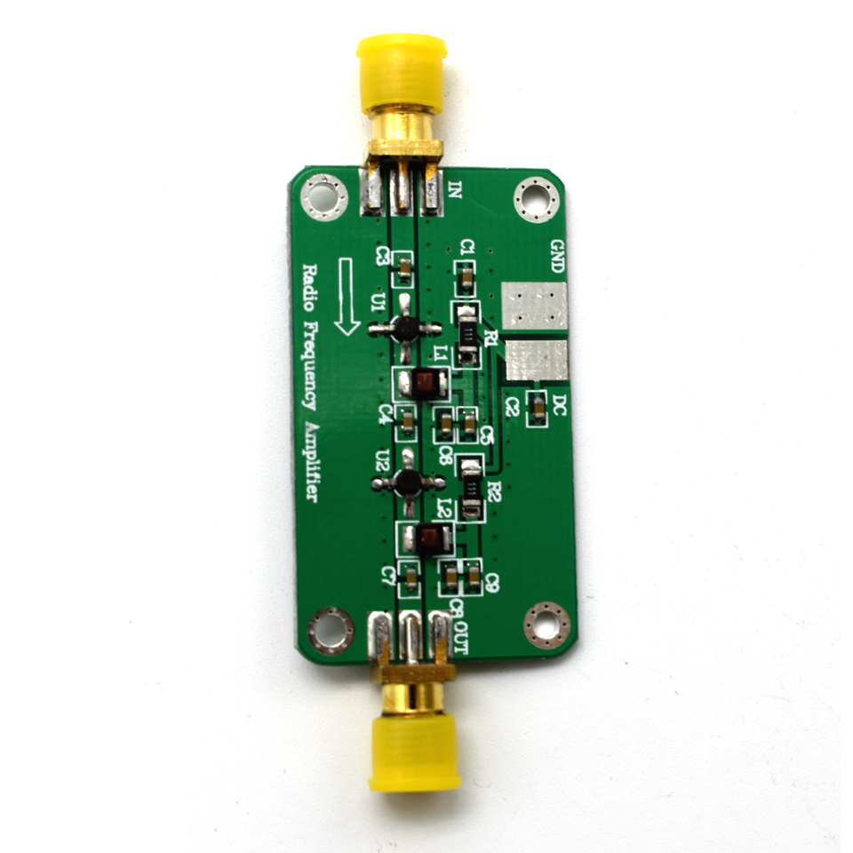 Image 4 - Lusya 1MHz 2000MHz RF Broadband Amplifier Low Noise Amplifier 64dB gain NF: 1.8 LNA Module HF VHF UHF fm Ham Radio G2 003Amplifier   -
