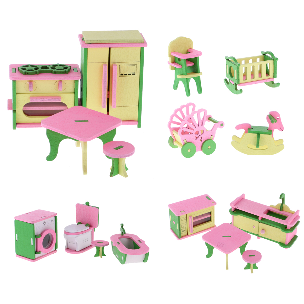 wholesale wooden doll dinning house furniture. delighful doll wholesale wooden doll dinning house furniture 4 pcsset  miniature furniture bathbedliving room on wholesale wooden doll dinning house furniture o