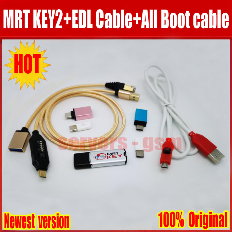 2019 Newest Original MRT KEY Dongle for EDL xiao mi cable UMF ALL Boot cable set