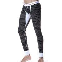 Free Shipping Seobean 2014 Newest Warm Male Pants Comfortable Soft Cotton Long Johns Fashion Male Legging
