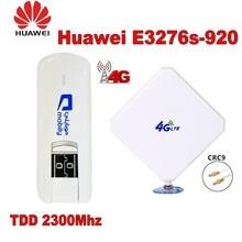 Разблокированная huawei E3276S-920 Мобильная широкополосная Флешка модем плюс с антенной 4g