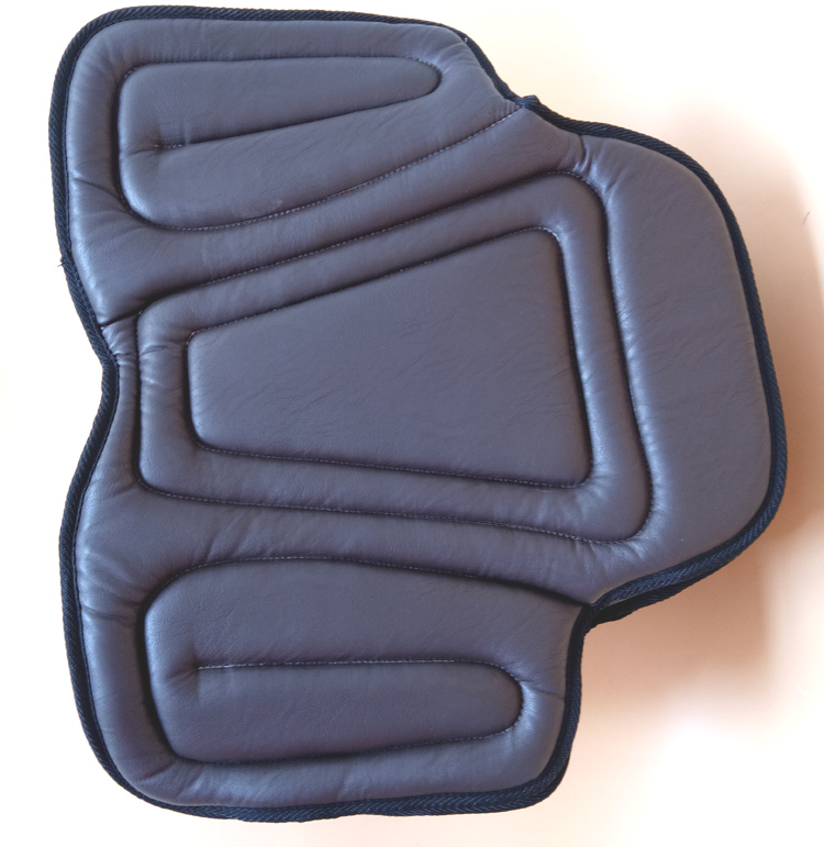 Image 5 - Equestrian PU Saddle Pads Black Horse Riding Saddle Pad Soft Seat Pad Horse Riding Racing Equipment Paardensport Cheval F-in Saddle Pads from Sports & Entertainment