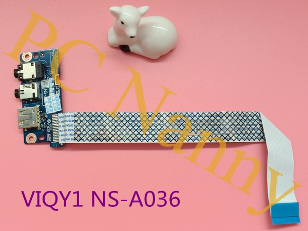 Genuine For Lenovo IdeaPad Y510P USB audio board VIQY1 NS-A036