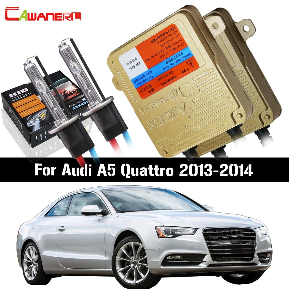 US $53 7 44% OFF|Cawanerl 55W H7 HID Xenon Kit AC 3000K 8000K No Error  Ballast Bulb For Audi A5 Quattro 2013 2014 Car Light Headlight Low Beam-in  Car