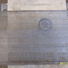 CF158 series spare parts sieve and knives