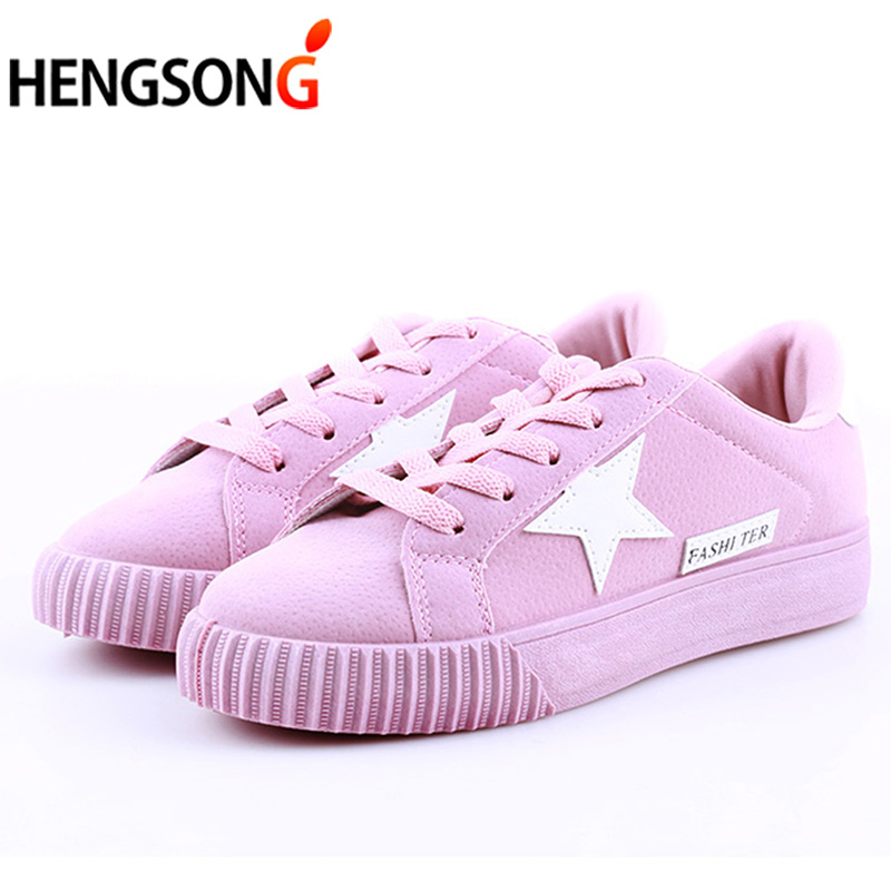 Fashion Women Shoes Women Casual Shoes Lace-up Comfortable Damping Eva Soles Platform Shoes For Female Ladies Flats Sneaker
