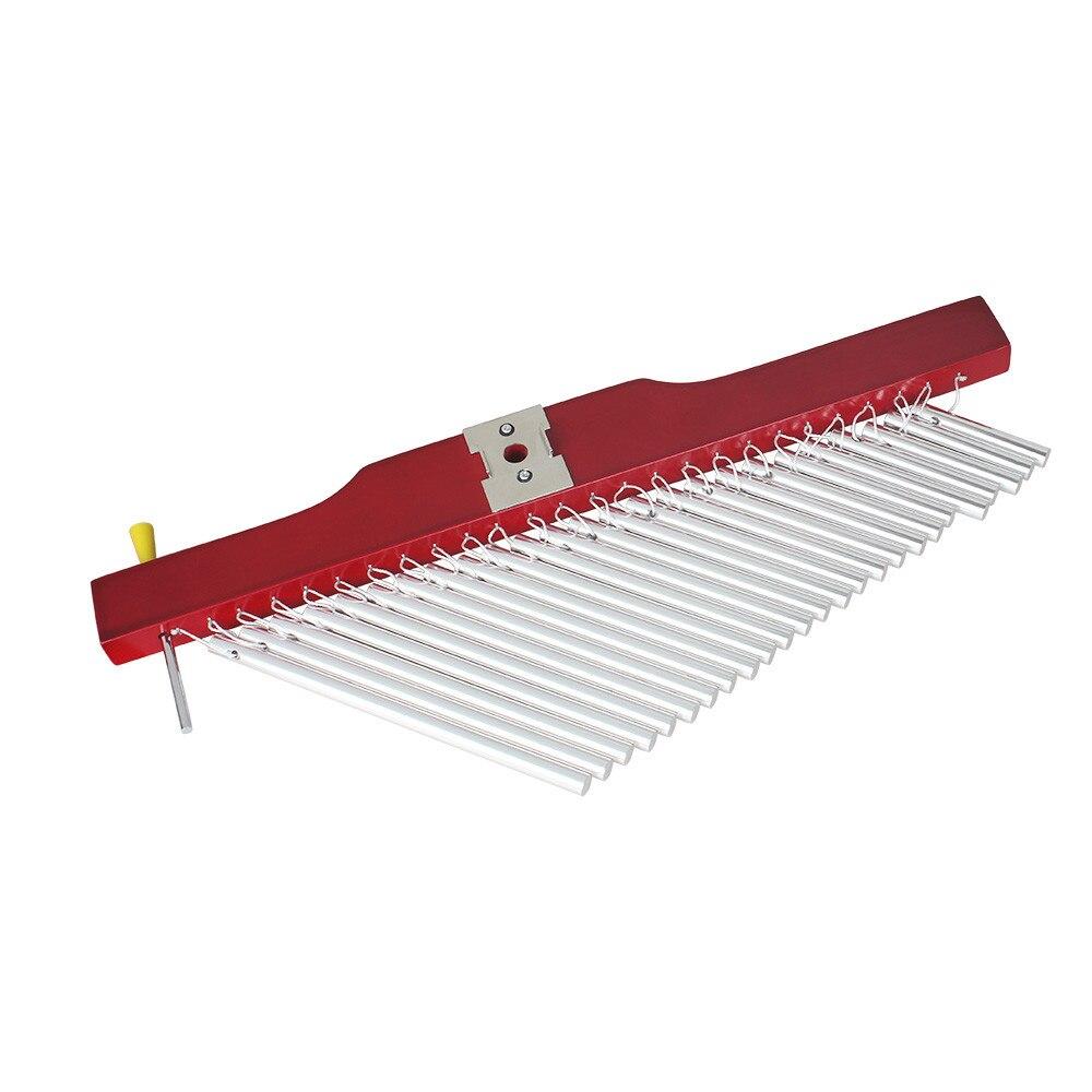 Instrument de Percussion musicale de carillons de tuyau de barre de 25 tons pour améliorer la musique de choeur