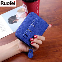 New brand women wallet casual short purse zipper wallet female small clutch bag with bowknot ladies purses