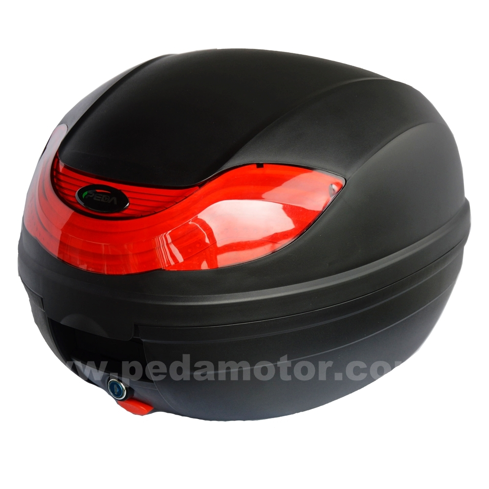 ПЕДА 2018 новая мода 32Л мотоцикл коробки Топкейса ПП хвост 2016 новый дизайн Италии преподнесет камера мотор блокировки багажника Перевозчик Коробка