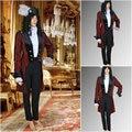 Custom orderR-628 Vintage Costumes medieval Men Dresses Gothic Suit evening Dress Renaissance dress
