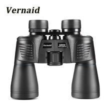 Купить с кэшбэком 10X50 night vision Binoculars HD Military powerful Telescope for outdoor Hunting and Travel with strap High Clear Vision Black