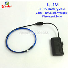 Neon-Light El-Wire-Set Party-Decoration Flexible Electroluminescent for Craft Tape-Cable