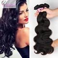 Subella Hair Brazilian Virgin Hair Body Wave 7A Unprocessed Brazilian Human Hair Bundle Deals 3pcs lot 8A grade no shedding hair