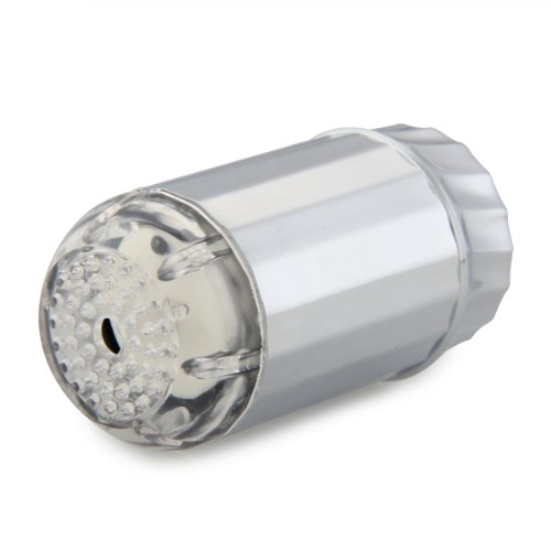 DSHA Nuovo Caldo Spruzzatore Soffione Cromato a LED 3 Colori per Doccia Doccetta Sensore Termico