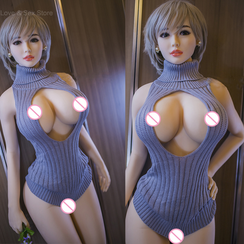 170cm Top Quality Real Sex Doll with Metal Skeleton, Full Size Silicone Sex Doll Love Doll, Oral Vagina Pussy Anal Adult Doll wmdoll 170cm top quality h cup silicone sex doll skeleton full size real dolls for men sexual mannequin with vagina anal oral