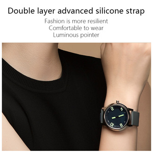 Image 3 - Lenovo חכם שעון קצב לב לחץ דם שעון Bluetooth 5.0 OLED ספיר מראה ספורט Smartwatch מתכת גברים של Watchs