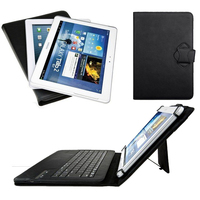Universal Dechatable Bluetooth Keyboard PU Leather Case Cover W Stand For Huawei MediaPad T2 10 0