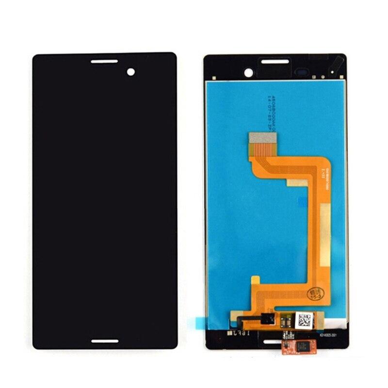 Original For Sony Xperia M4 Aqua  E2303 E2306 E2353 E2333 LCD Display With Touch Screen Digitizer Assembly Free Shipping