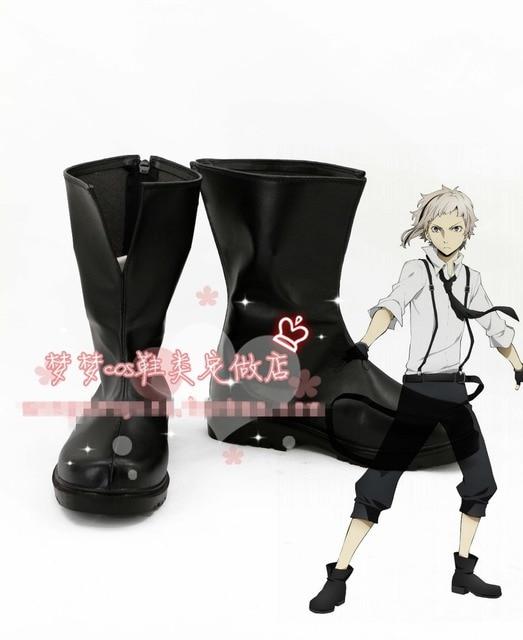 Bungo Stray Dogs Atsushi Nakajima Cosplay Shoes Boots Custom Made