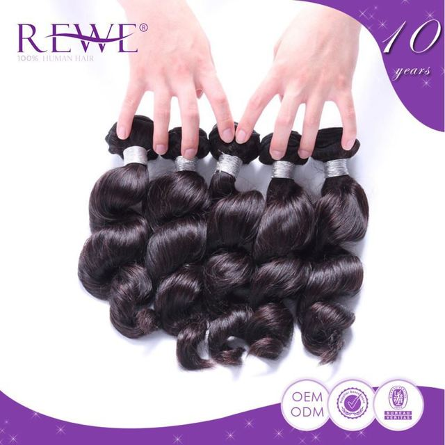 Various Colors Types Duby Hair Weave Weaving Extensions On