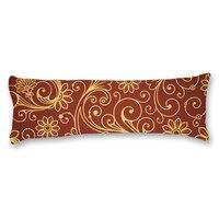 YYONE Brand Vintage Floral Long Body Pillow Cover Cotton Polyester Printed Pillowcase Blend Protector Case Home