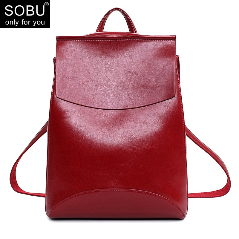 Fashion Women Backpack Youth Vintage Leather Backpacks for Teenage Girls New Female School Bag Bagpack mochila sac a dos D017 women backpack bag real leather backpacks for teenage girls school bags fashion travel backpack youth rucksack mochila feminina
