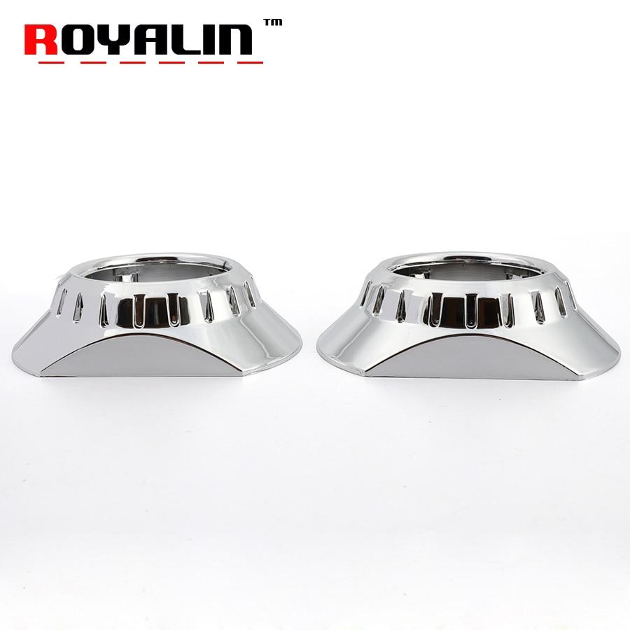 ROYALIN For E46 R Extended Projector Lens Mini Headlight ...