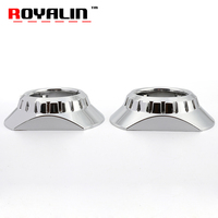 ROYALIN Xenon Lens Projector Headlight Shrouds For ZKW E46 R Extended For BMW M3 E90 E91