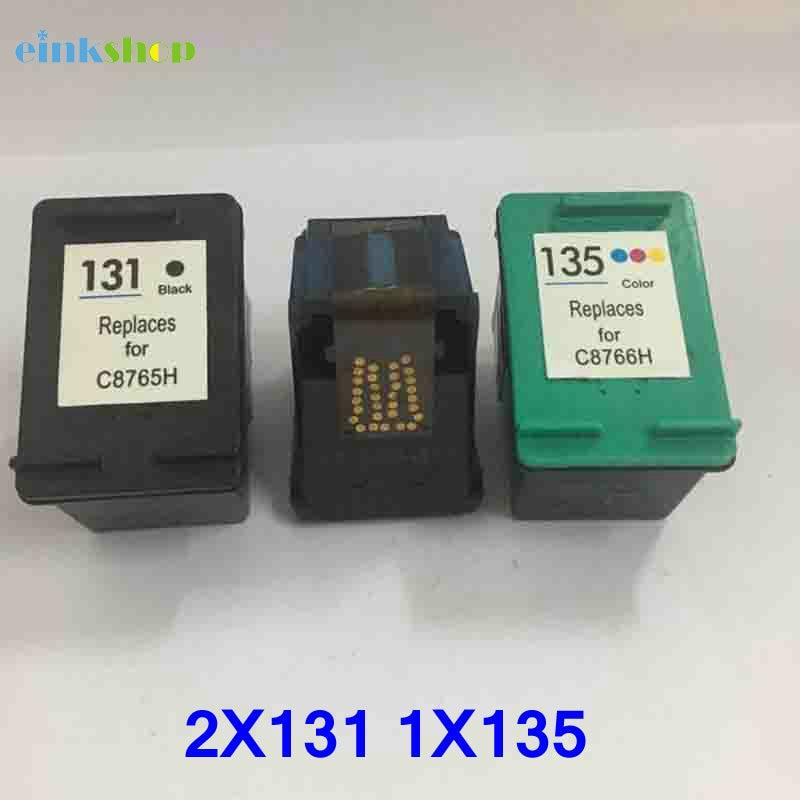 Einkshop kompatibel til HP 131 135 blækpatron til hp Deskjet 460 - Kontorelektronik