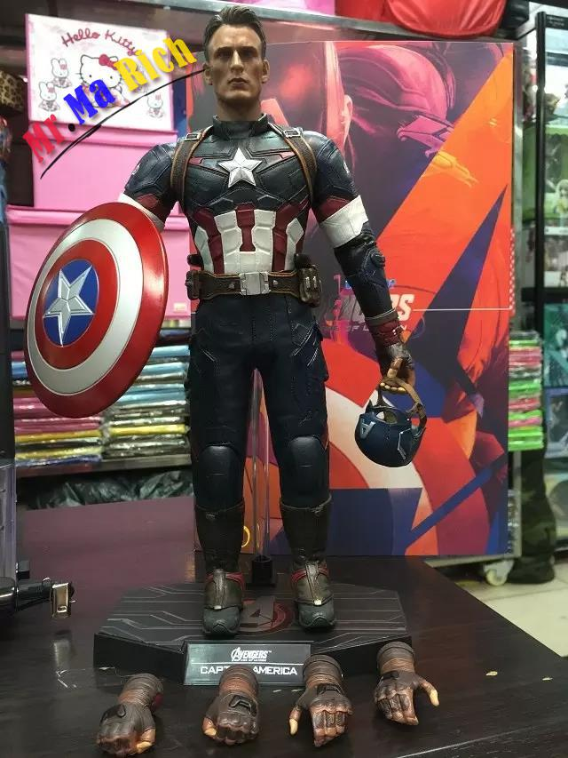 The Avengers 2 Captain America 1/6 Scale movable PVC Action Figure Collectible Model Toy Doll 32cm captain america civil war bobble head pvc action figure collectible model toy doll 10cm