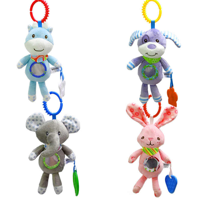 Bebek oyuncakları Bebek Çıngırak Oyuncaklar Arabası Asılı Çıngıraklar Eğitici Oyuncaklar Çıngırak Yatak Çan Bebek 0-12 Ay