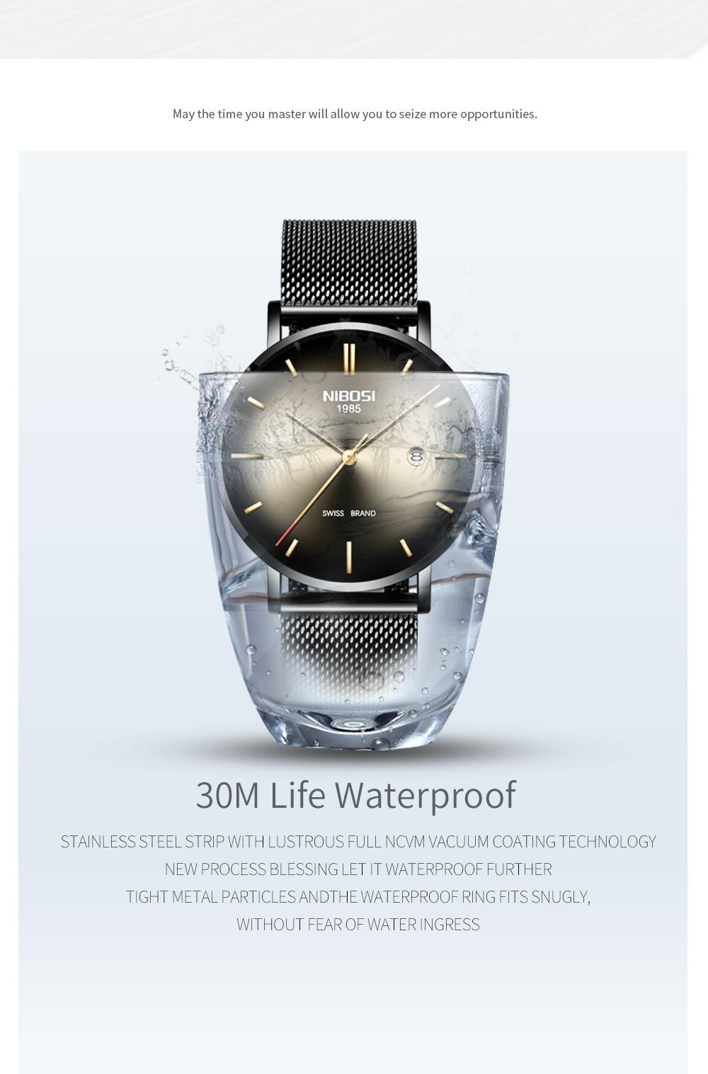 HTB1466FaE rK1Rjy0Fcq6zEvVXaX NIBOSI Watch Men Simple Fashion Swiss Brand Quartz Watch Luxury Creative Waterproof Date Casual Men Watches Relogio Masculino