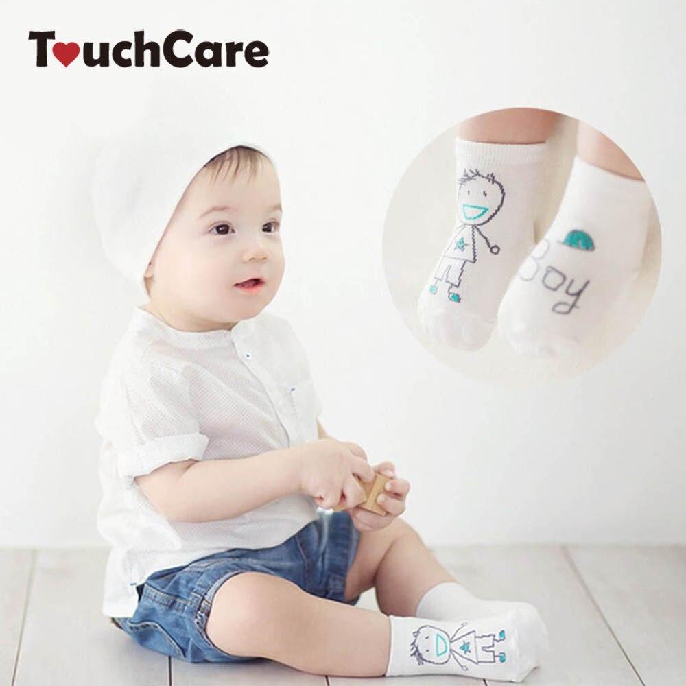 Newborn Cotton Cute Cartoon Baby Boy Girl Socks Infant Animal Anti Slip Unisex Toddler -4607