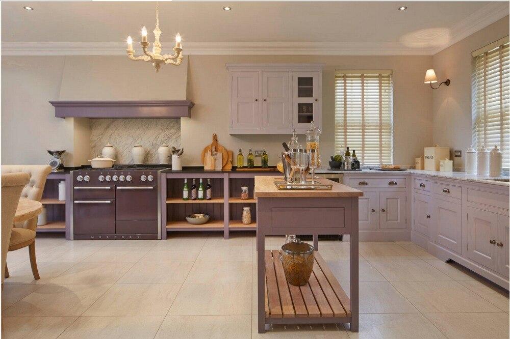 2017 Traditional Solid Wood Kitchen Cabinet Keukenkast Armadio Da Cucina Wooden Kitchen Furnitures S1606042