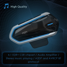 2019 Newest Motorcycle Wireless Bluetooth Headphone Helmet Waterproof Voice Control Headset With Mic 35