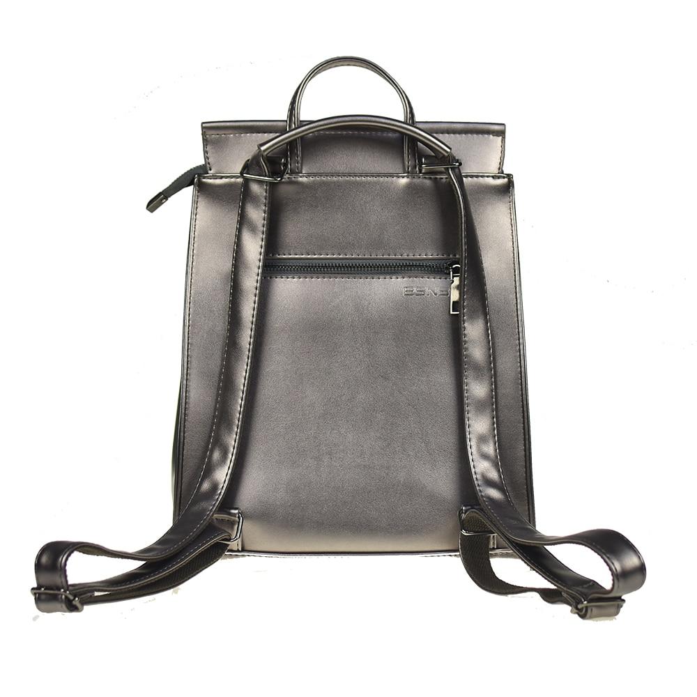 Fashion Women Backpack High Quality Pu Leather Backpacks For Teenage Girls Female School Shoulder Bag Bagpack Mochila #5