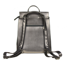 Women's Stylish Colorful Leather Backpack without Pattern