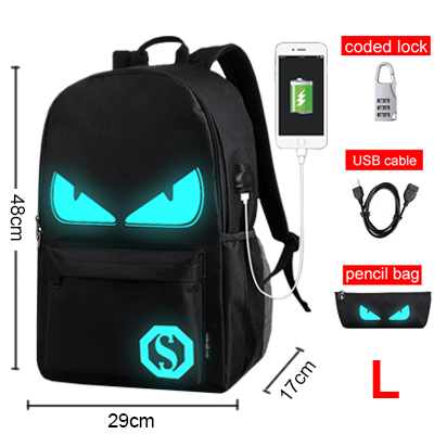 Luminous Animation Back to School Backpack 8