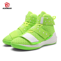 ALDOMOUR 2017 Men Basketball Shoes Ankle Boots Breathable Male Sport Sneakers Unisex Footwear Basketball Shoes