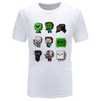 2019 najnowsze śmieszne koszulki i koszulki gry VideoGame koszulki czysta bawełna nadruk moda koszulki wiosna O Neck topy tanie i dobre opinie CINESSD Krótki CN (pochodzenie) O-neck Regular Short Sleeve Suknem COTTON SILK Poliester Włókno bambusowe Modalne Stretch Spandex