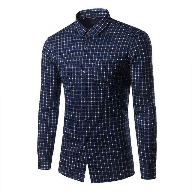 Warm Young Men Shirt Pictures Color Single Breasted Casual Men Clothing Outwear Or inside take Fashion All-match Fitness KMC3037
