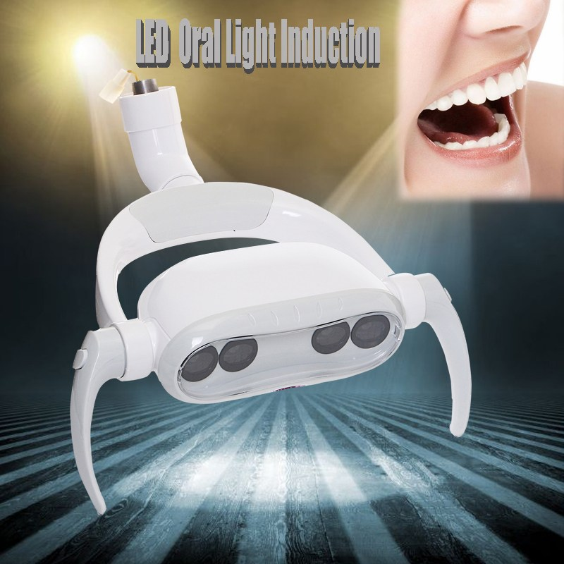 15W Dental LED Teeth Lamp Oral Cold Light LED Induction For Dental Unit Chair Tool AC12V dental led oral light induction lamp for dental unit teeth whitening joint size 22mm
