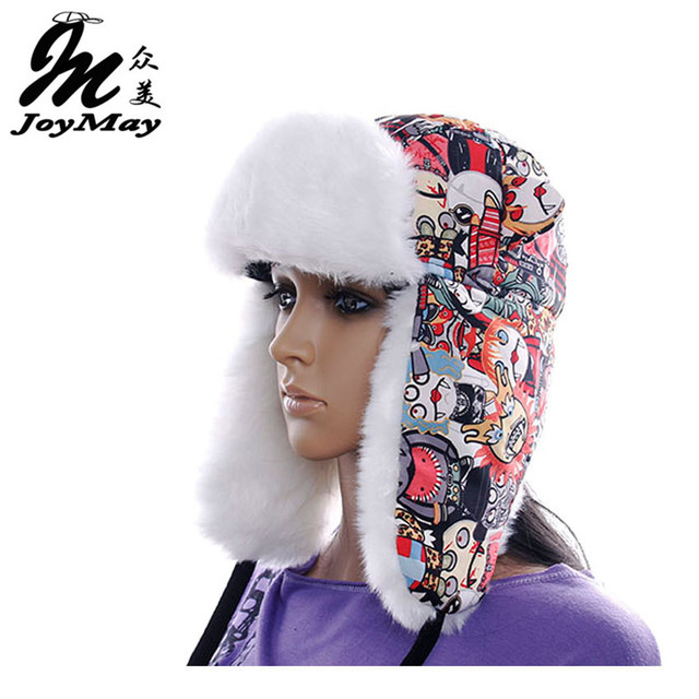 High Quality 2014 winter Warm Proof Trapper Hat Women aviator hat sport Zombie hat boutdoor ear flaps bomber caps W060