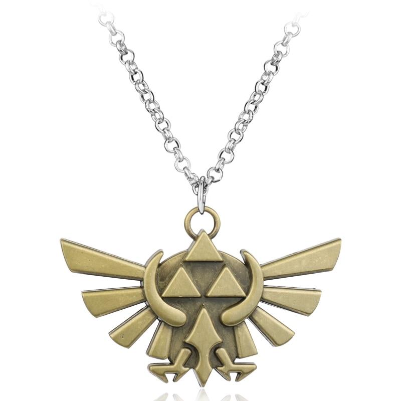 The Legend of Zelda Dark Links Hylian Metal Necklace ...