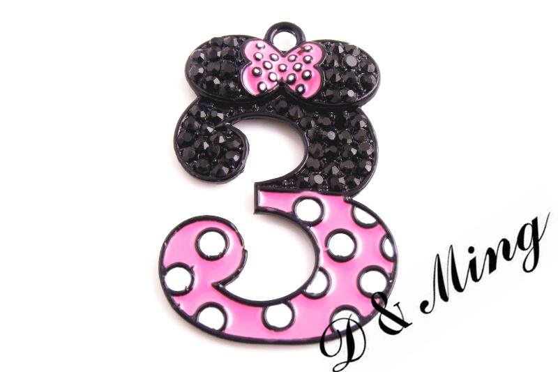 Buy number 3 pendant and get free shipping on aliexpress mozeypictures Images