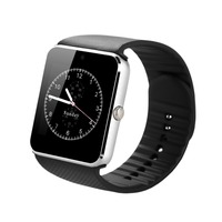ZAOYIEXPORT Bluetooth Smartwatch GT08 Smart Watch Alarm Clock With SIM RF Card Carmera For Apple IOS