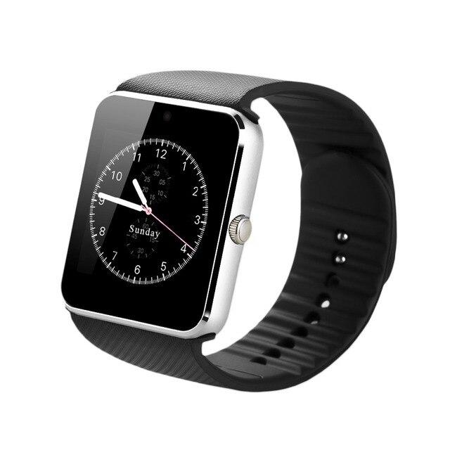 Zaoyiexport Bluetooth SmartWatch gt08 Смарт-часы будильник с сим карты РФ carmera для Apple IOS Android PK dz09 часы