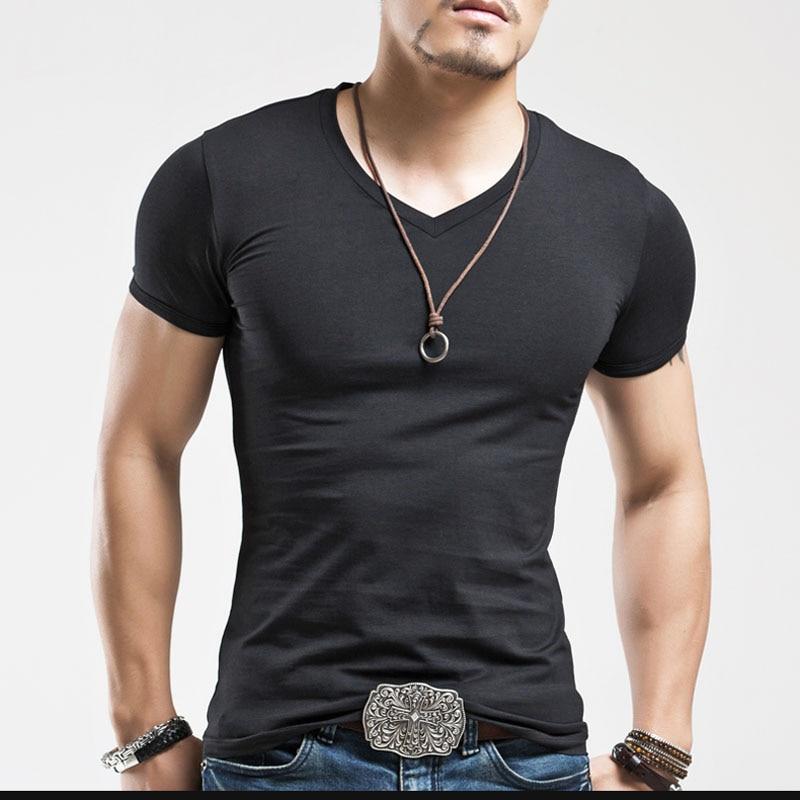 Cheap 17 Designs Mens T Shirt Slim Fit Crew Neck T Shirt: Online Get Cheap V Neck T Shirts Men -Aliexpress.com