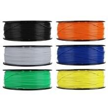 1kg ABS 1.75mm 3D Printer Filament Plastic Rubber Consumables Material 6 Colors 3D Printing Materials
