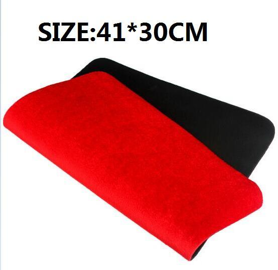 41*30cm Red  High Quality Card deck Mat close up magic tricks Pad Poker Coin prop illusion magic toy YH350